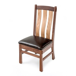 Ashcroft Side Chair w/Leather Seat