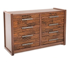Riley 8 Drawer Dresser w/Bark Tile