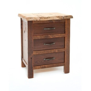Timberland 3 Drawer Nightstand