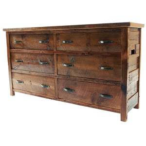 WESTERN TRADITIONS – ELITE 6 DRAWER DRESSER