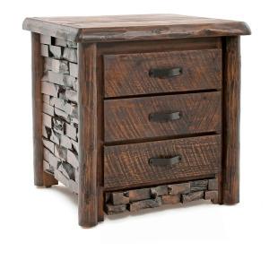 Westcliffe 3 Drawer Nightstand