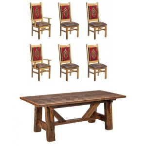 Mossy Oak 7 PC Dining Set