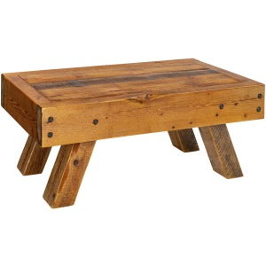 "Leadville 48"" x 30"" Beam Coffee Table"