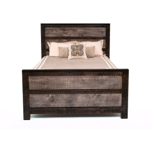 URBAN GRAPHITE PANEL BED