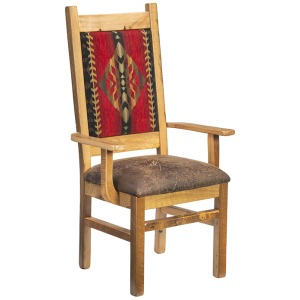 Catskill Arm Chair w/Upholstered Back & Seat