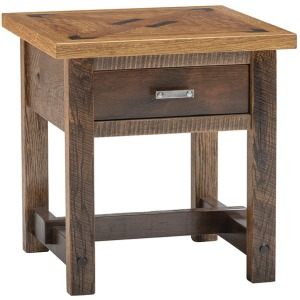 Chateau 1 Drawer Side Table