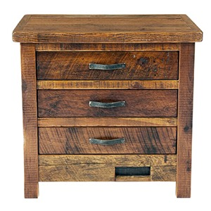 WESTERN TRADITIONS – ELITE 3 DRAWER NIGHTSTAND