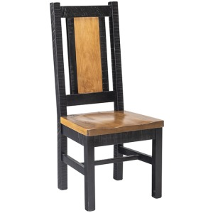 Oakley Side Chair With Wood Seat