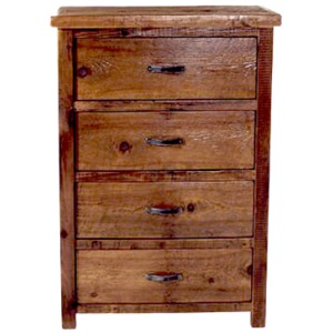 WESTERN TRADITIONS – ELITE 4 DRAWER DRESSER