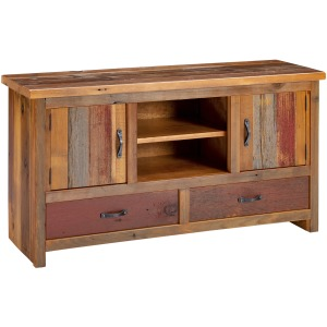 Crested Butte 2 Door 2 Drawer TV Stand