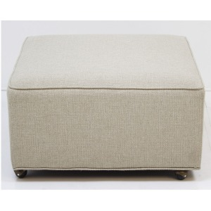 3030 Customizable Ottoman w/Casters