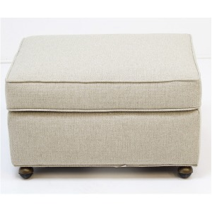 2820 Customizable Ottoman w/Casters