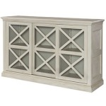 Hidden Treasures Sliding Door Storage Console
