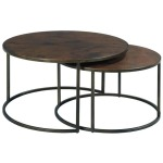Sanford Round Cocktail Table