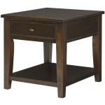 Table Groups Boulevard Rectangular Drawer End Table - Kd