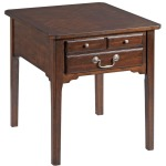 Arcadia Hamilton Rectangular Drawer End Table