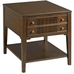 Mercato Hamilton Rectangular Drawer End Table