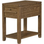 Chairsides Chairside Table - Oak Finish - Kd