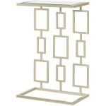 Hidden Treasures Rectangular Pattern Side Table