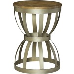 Modern Theory Round End Table
