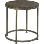 Collections Leone Round End Table