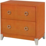 Hidden Treasures Orange Accent Chest