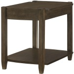 Table Groups Alba Rectangular Drawer End Table - Kd