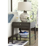 Synchronicity Rectangular Drawer End Table