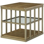 Table Groups Modern Theory Rectangular End Table - Kd