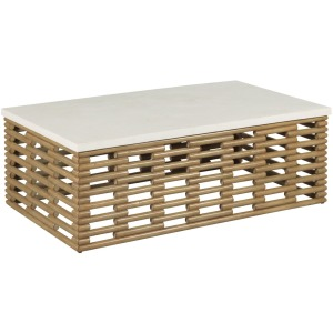 Hidden Treasures Rattan Coffee Table