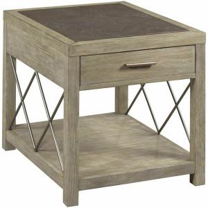 West End Rectangular Drawer End Table