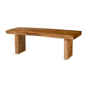 Hidden Treasures Live Edge Table/bench