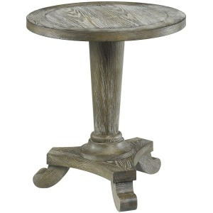 Hidden Treasures Drift Round Pedestal Table