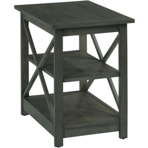 Dark Brown Chairside Table