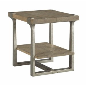 Timber Forge Rectangular End Table