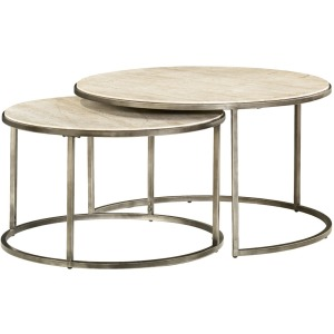 Modern Basics Round Nesting Cocktail Table