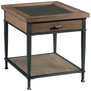 Austin Rectangular Drawer End Table