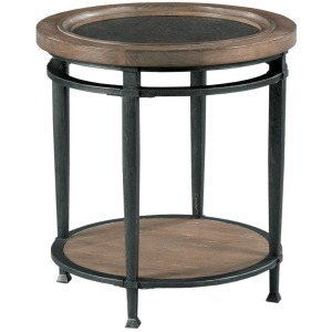 Austin Round End Table