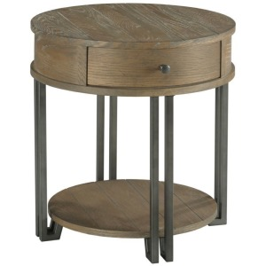 Saddletree-Hamilton Round Chairside Table