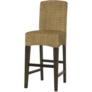 Hidden Treasures Woven Bar Stool