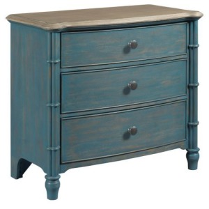 Litchfield Sundown Accent Chest Blue
