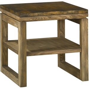 Spaces Square End Table