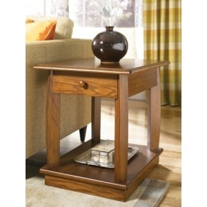 Ascend Rectangular Drawer End Table