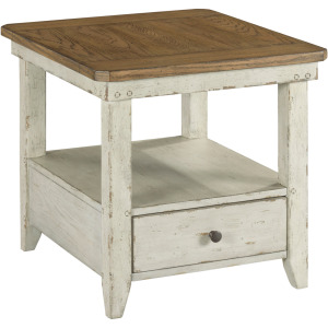 Chambers Rectangular Drawer End Table