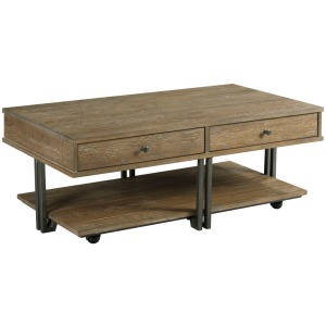 Saddletree-Hamilton Rectangular Coffee Table