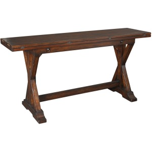 Hidden Treasures Flip-top Console Table