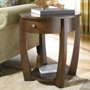 Concierge Oval End Table
