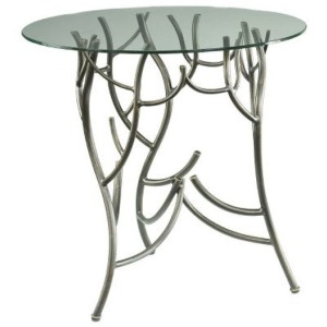 Hidden Treasures Twig Accent Table Complete