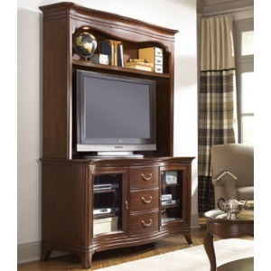 Cherry Grove Entertainment Console and Hutch