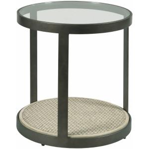 Concrete Round End Table